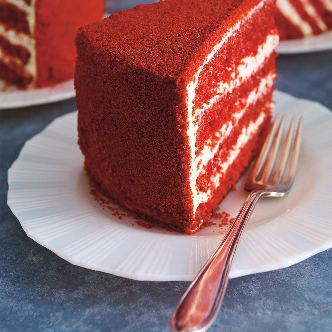 Red Velour Cake