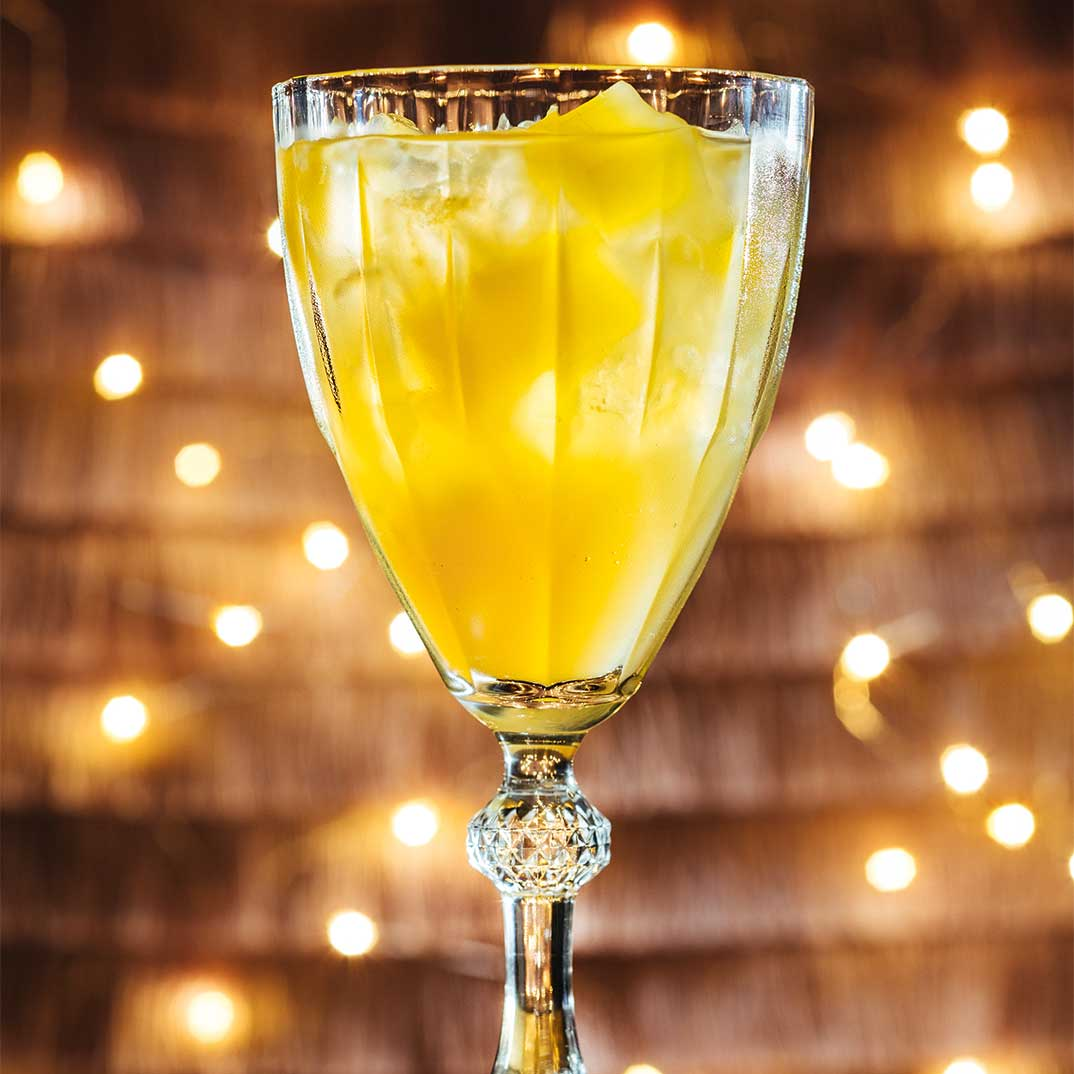 Citrus Champagne Cocktail