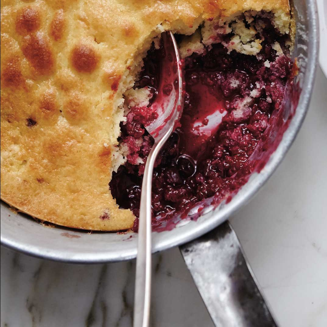 Berry Pudding Cake (The Best)