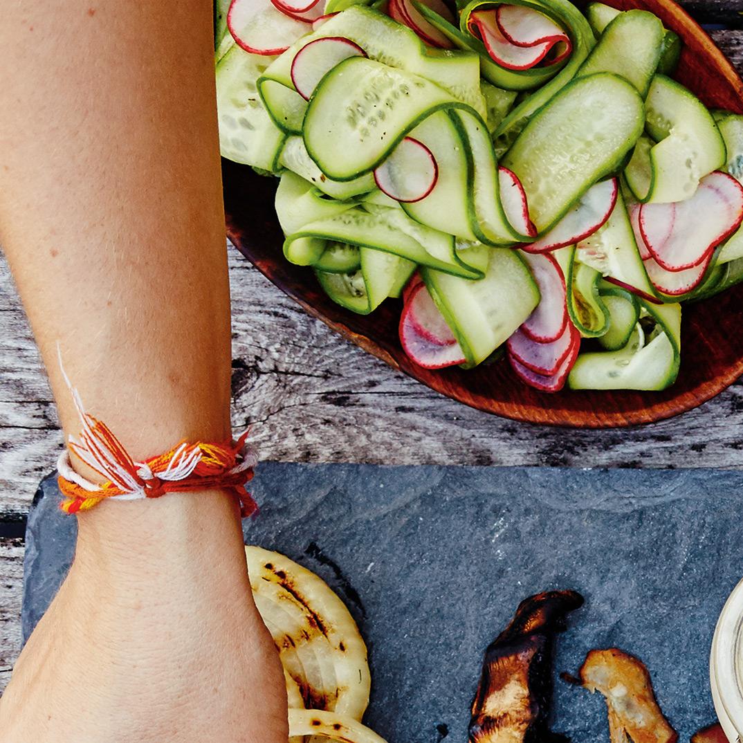 <i>Picklies</i> de radis et de concombres