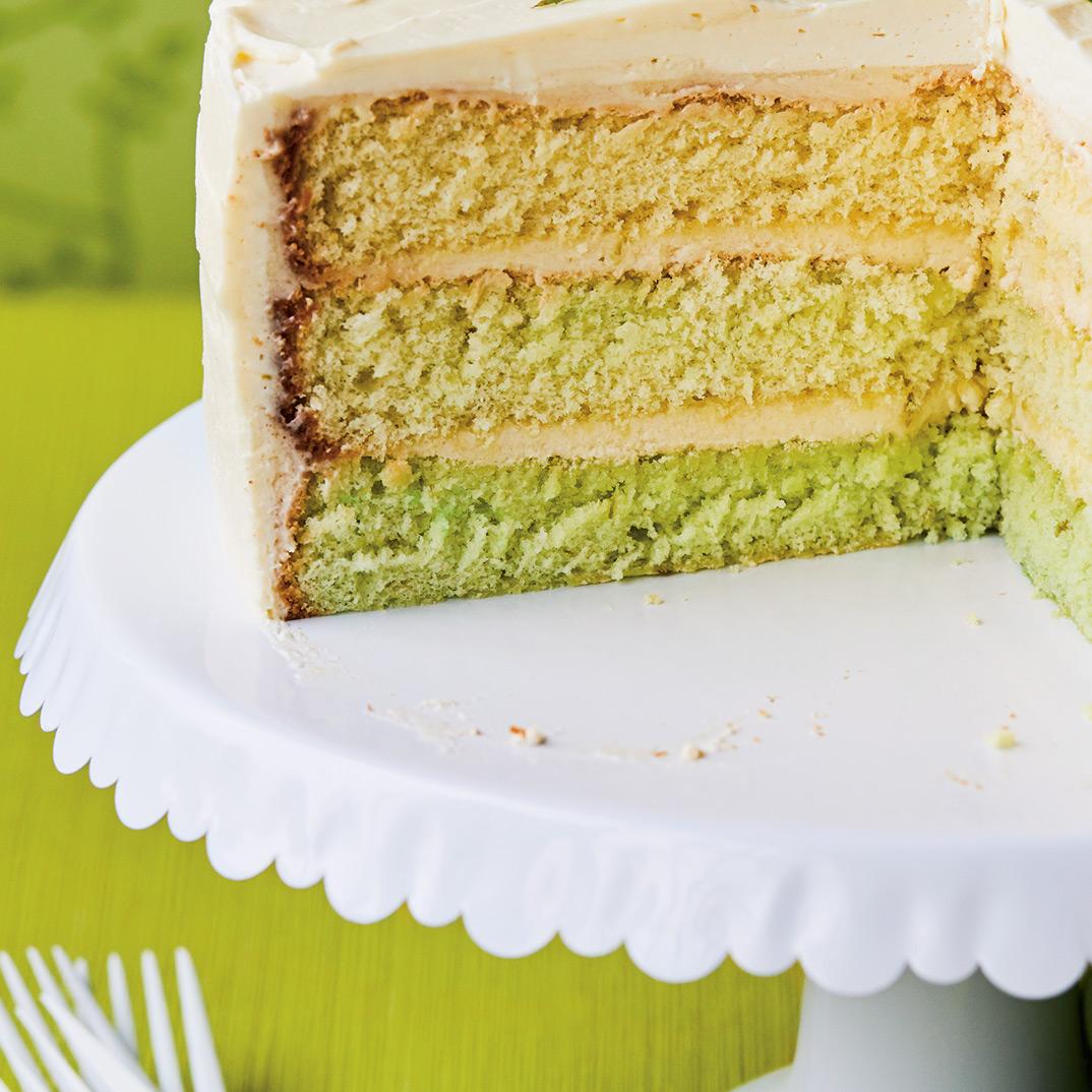 Gâteau « mojito»