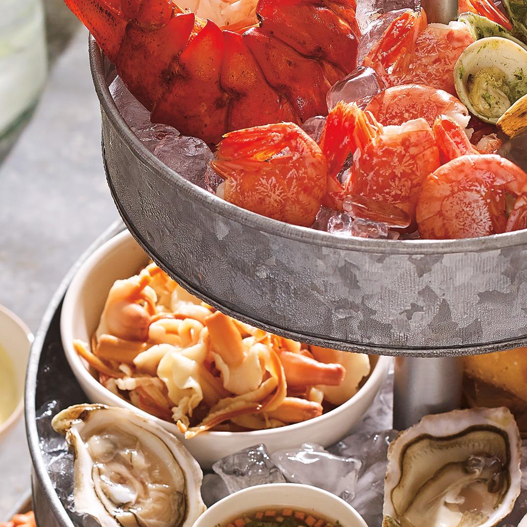 Crevettes tachetées froides