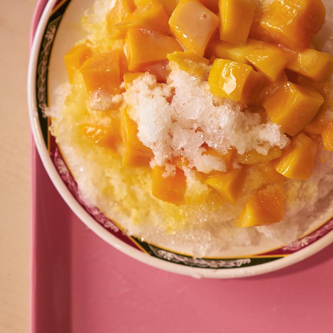 Mango Shaved Ice (<i>Mangguo Baobing</i>)