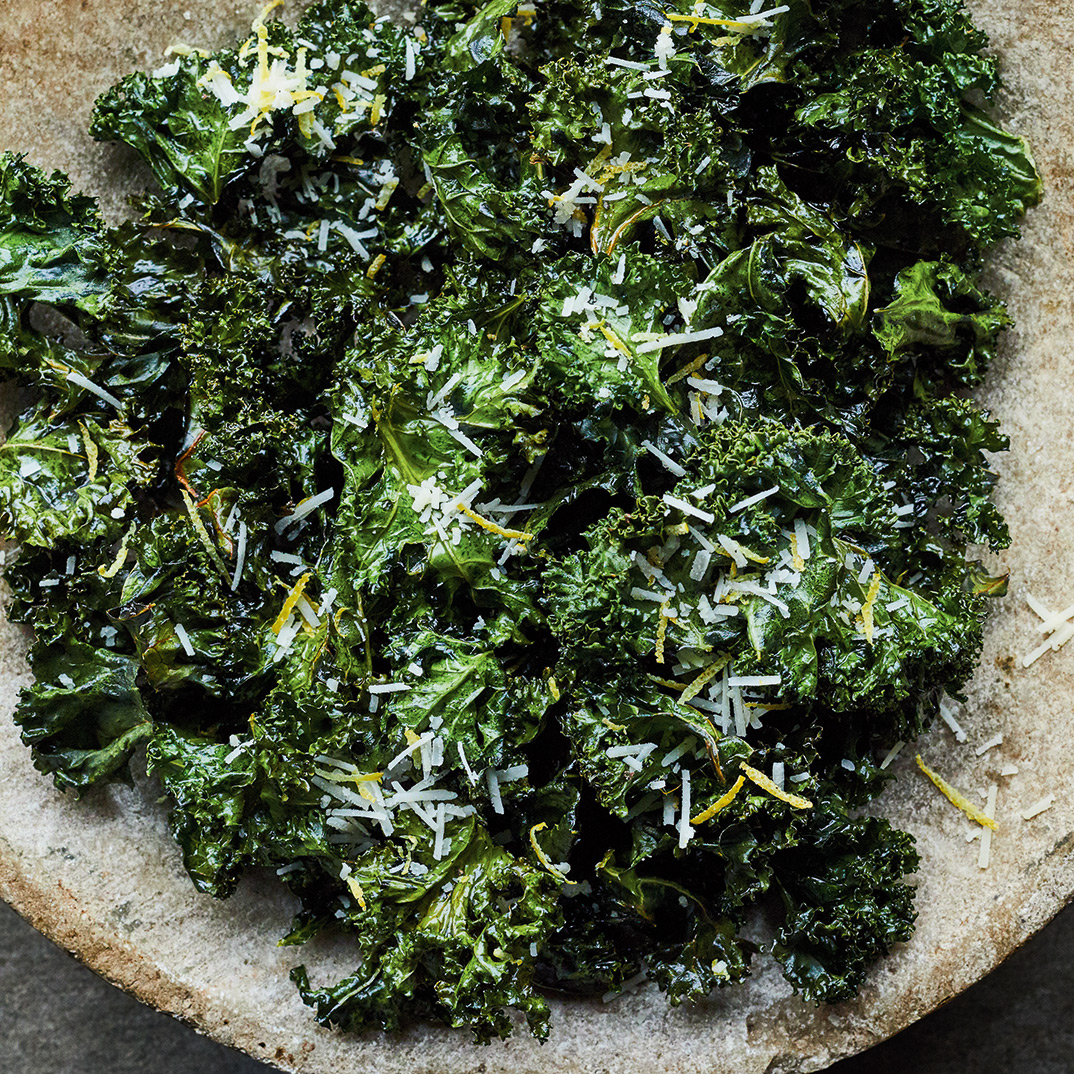 Kale Chips and Seasonings