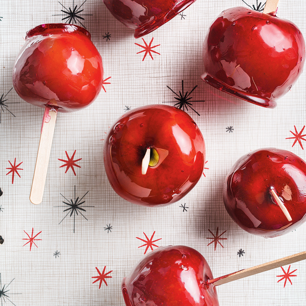 Pomme de tire (<i>candy apple</i>)