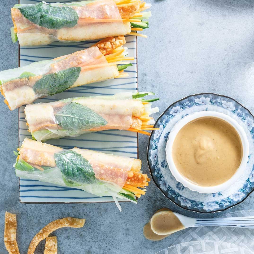 Crunchy Tofu Rolls