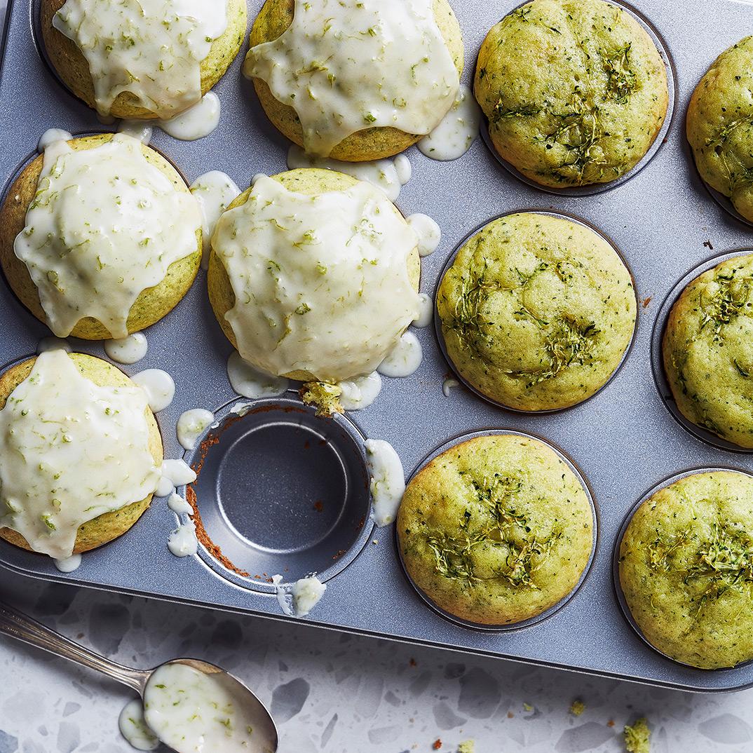 Zucchini Lime Muffins