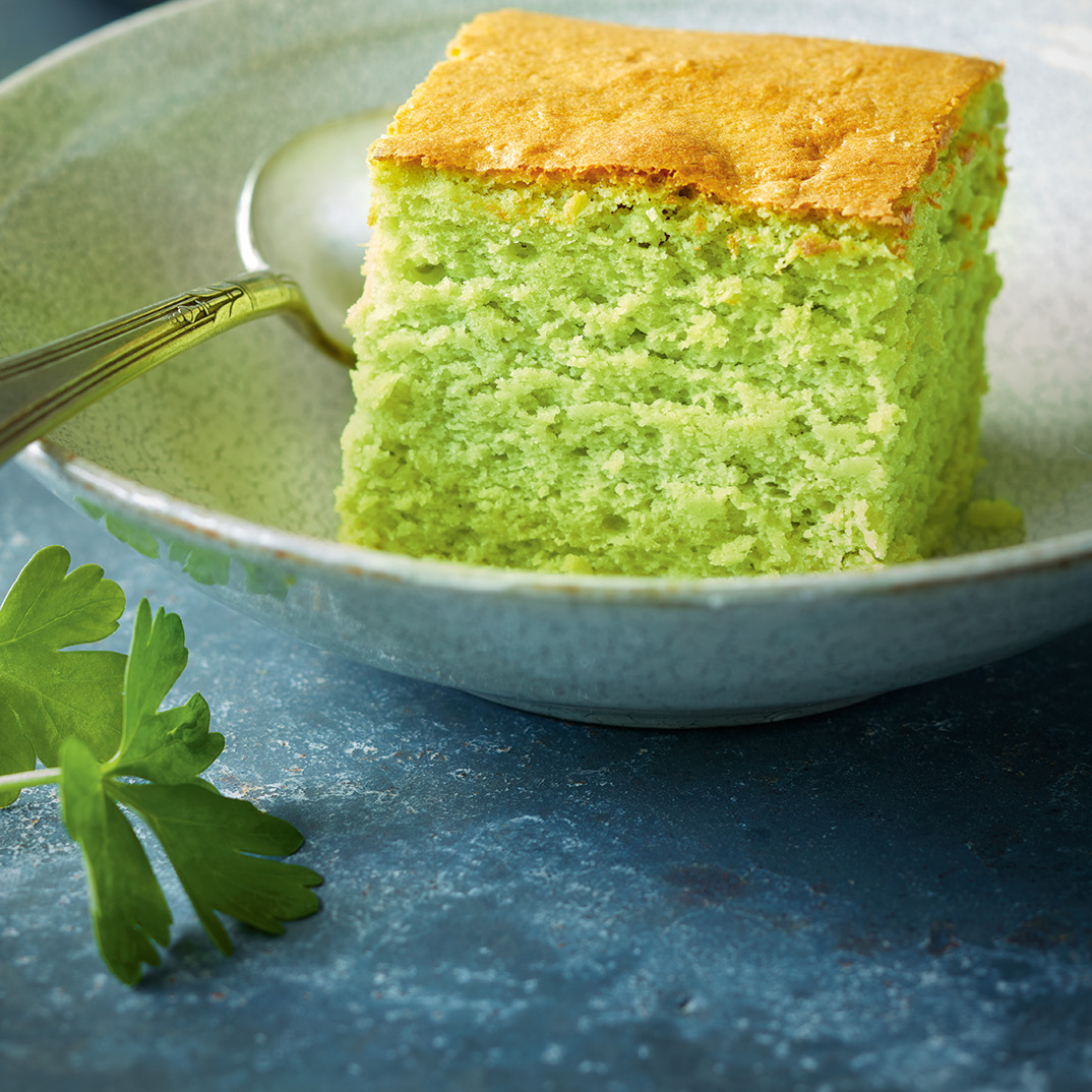 Japanese Parsley Cheesecake