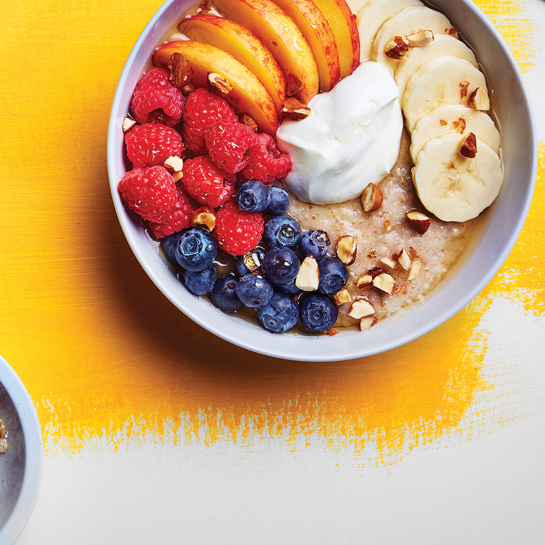 Hot Cereal with Fresh Fruit