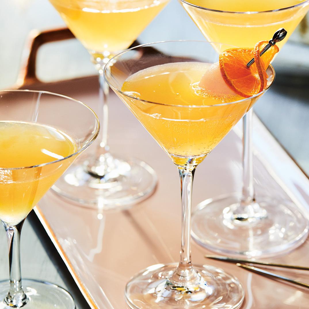 Cocktail litchi-clémentine