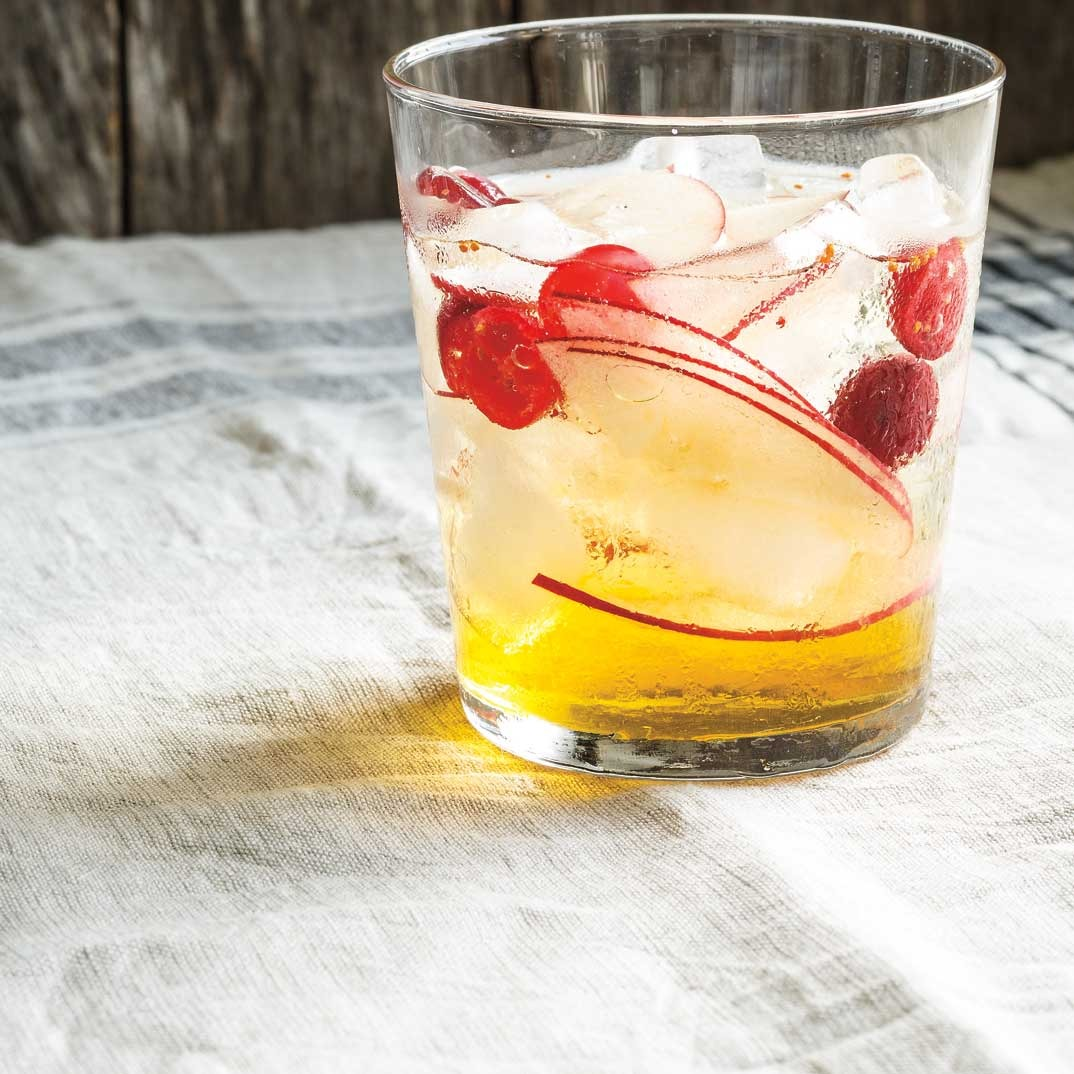 Cranberry-Apple Cider Drink