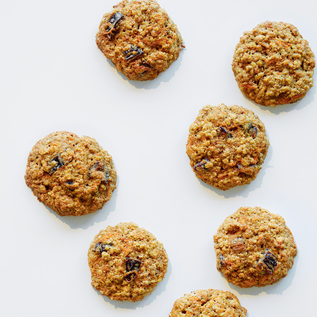 Carrot and Whole Grain Cookies