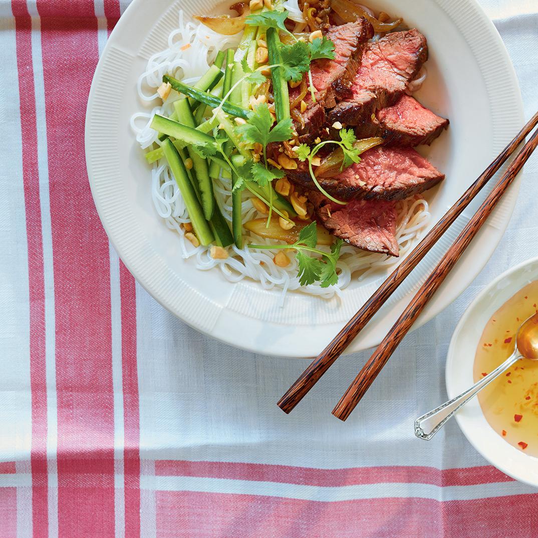 Grilled Lemongrass Beef