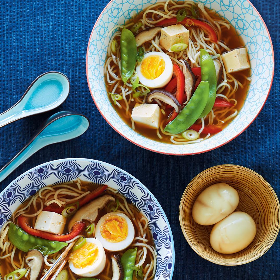 Ramen Soup with Tofu