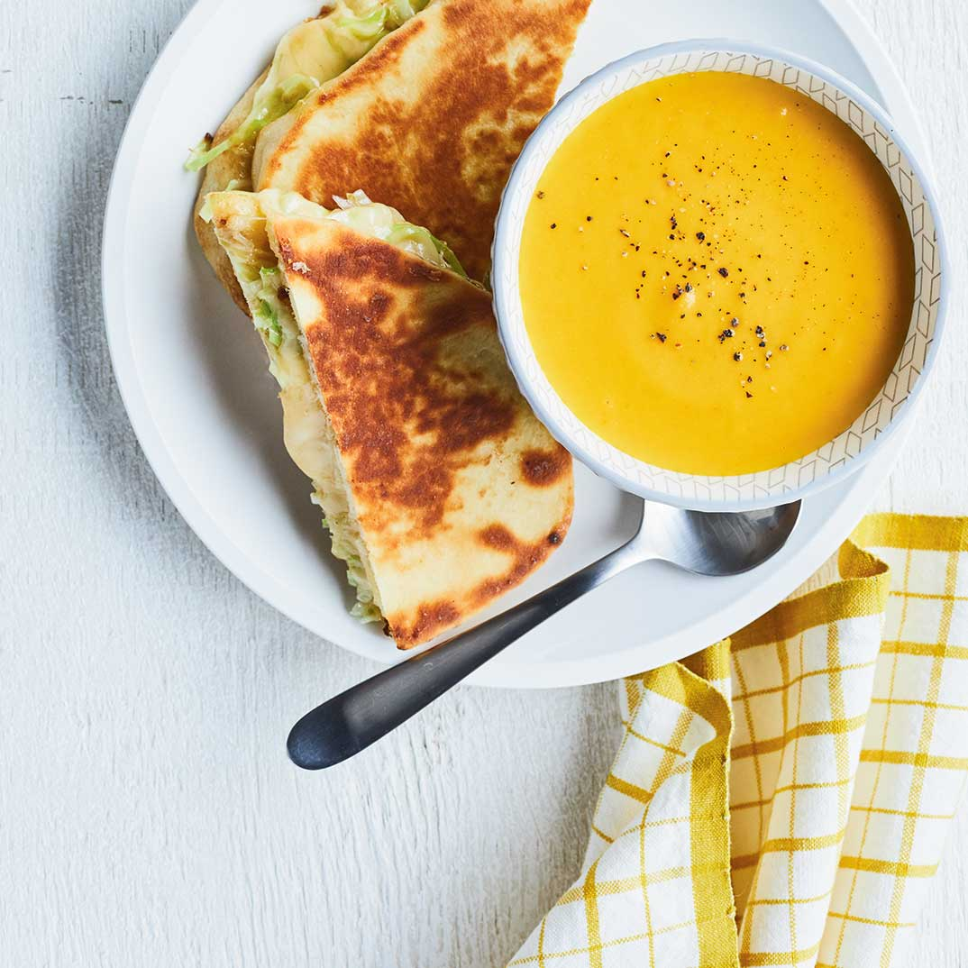 <i>Grilled cheese</i> au gouda