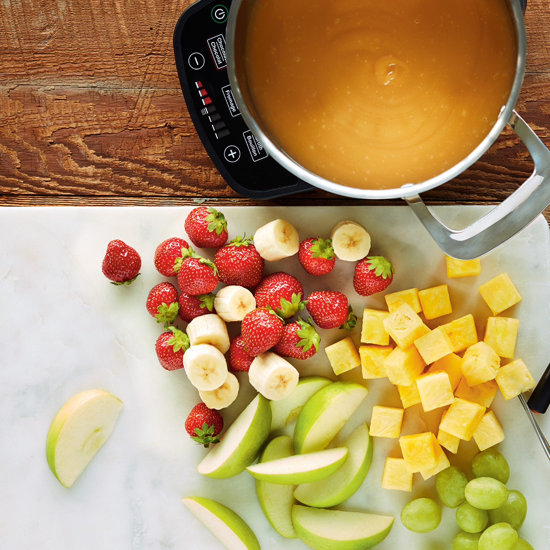 Maple and Ginger Fondue