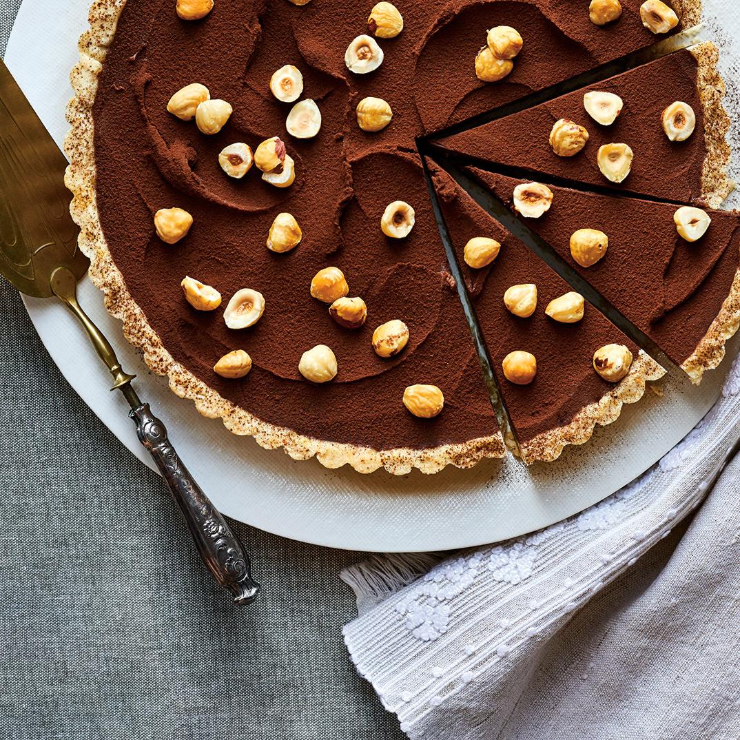 Chocolate Hazelnut Tart
