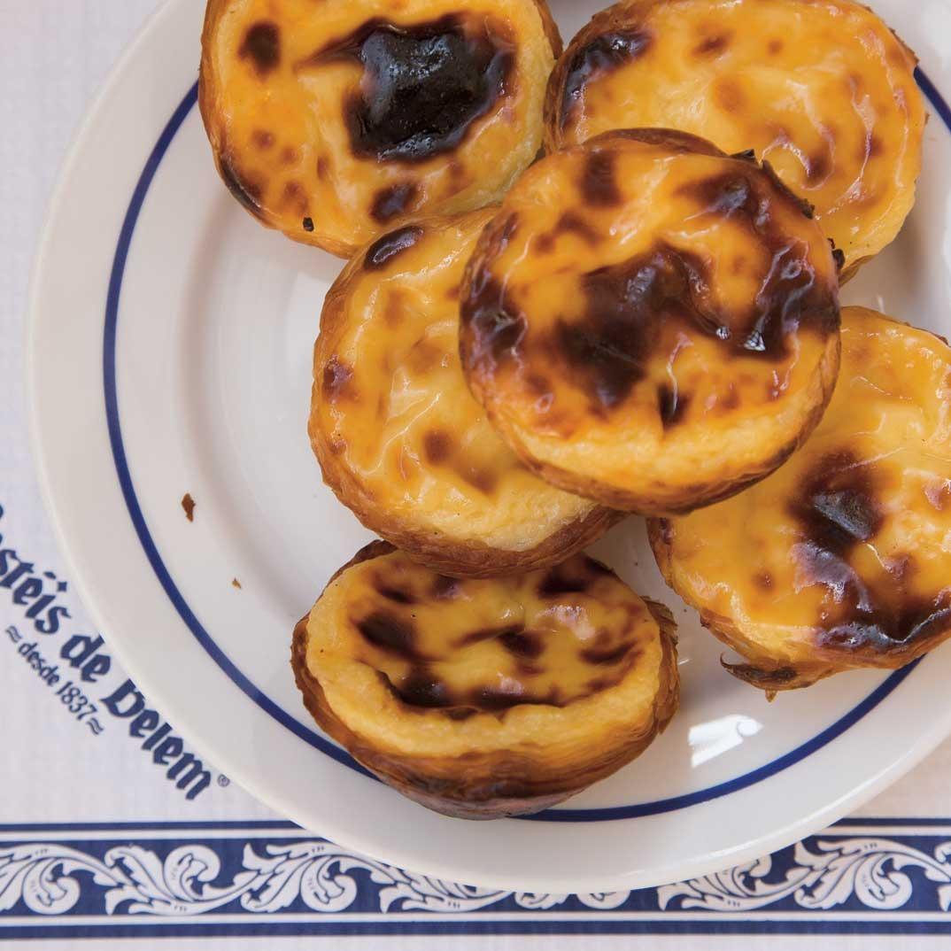 Tartelettes portugaises (<i>pasteis de nata</i>)