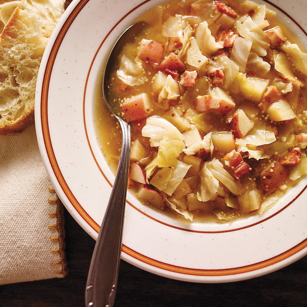 Pressure Cooker Sauerkraut Soup