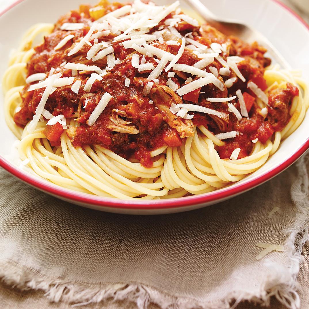 Sauce à spaghetti à l'autocuiseur