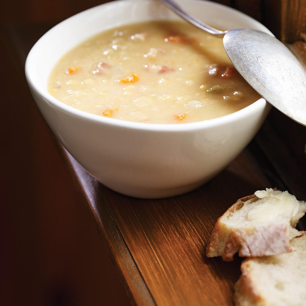 Pressure Cooker Pea Soup