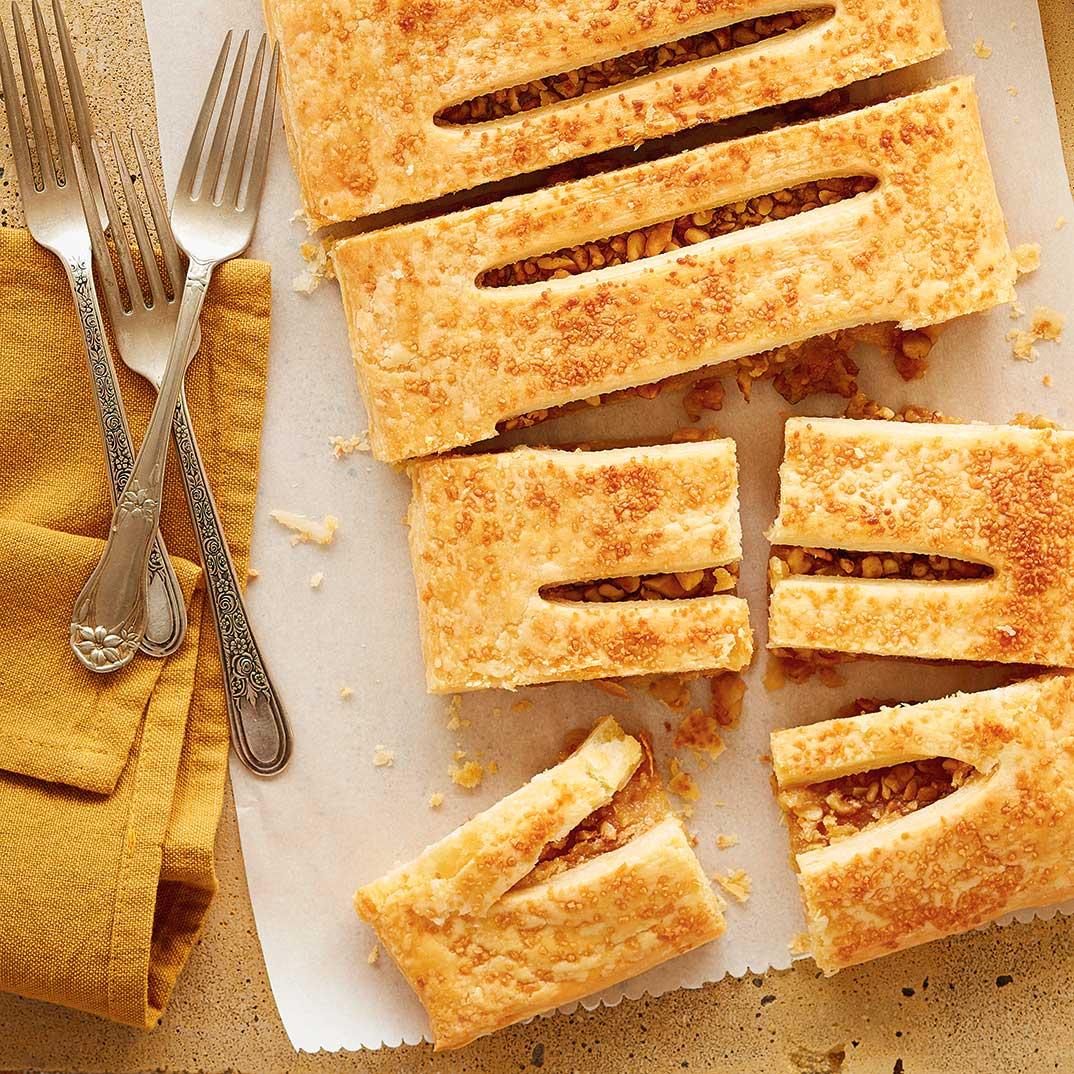 Maple Walnut Tart