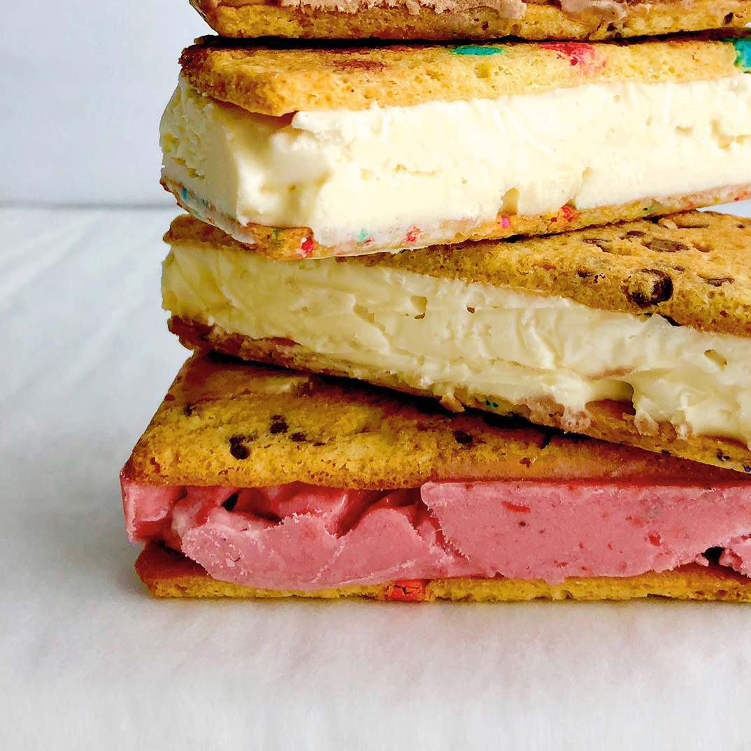 Sandwichs à la crème glacée <i>chill</i>