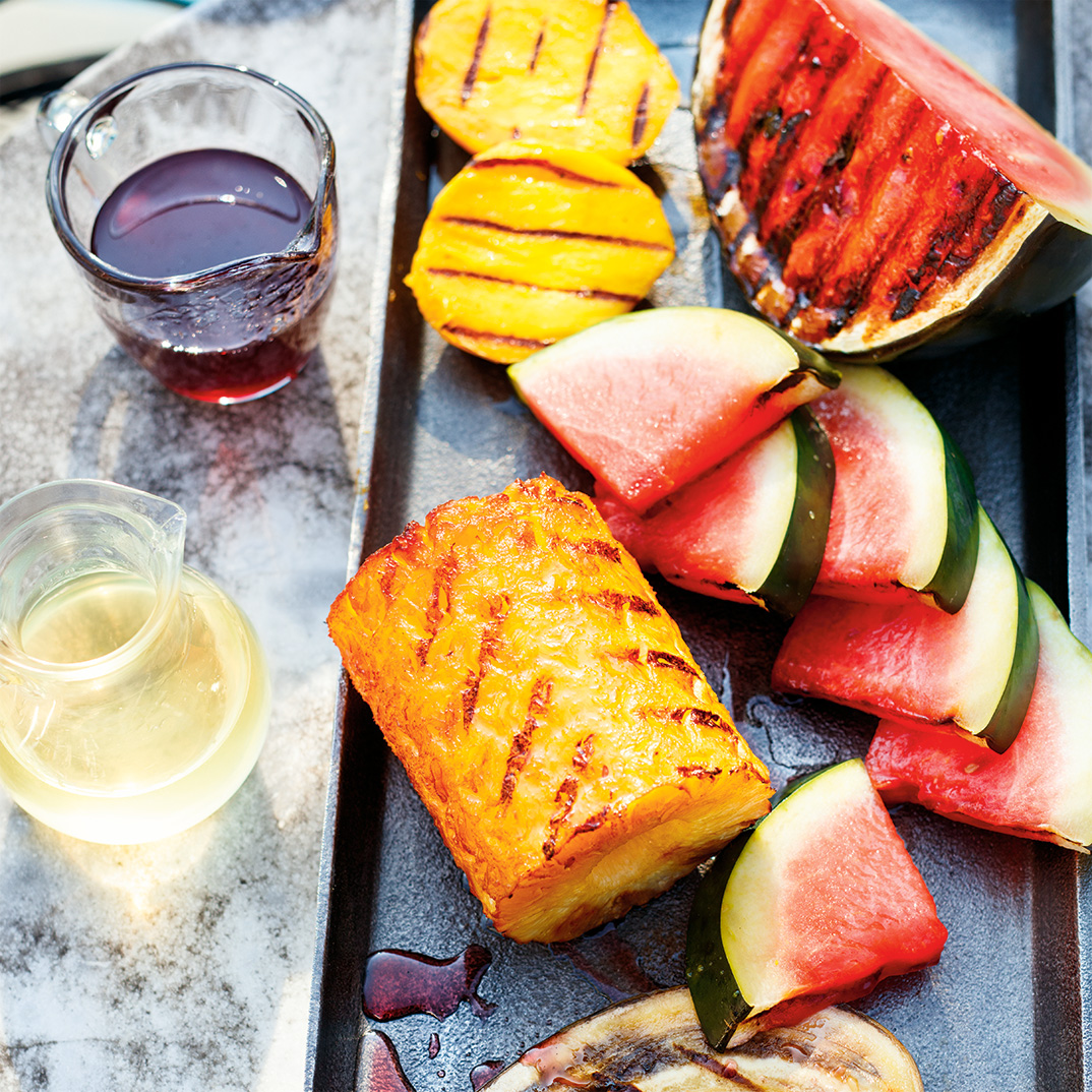 Grilled Fruit Platter