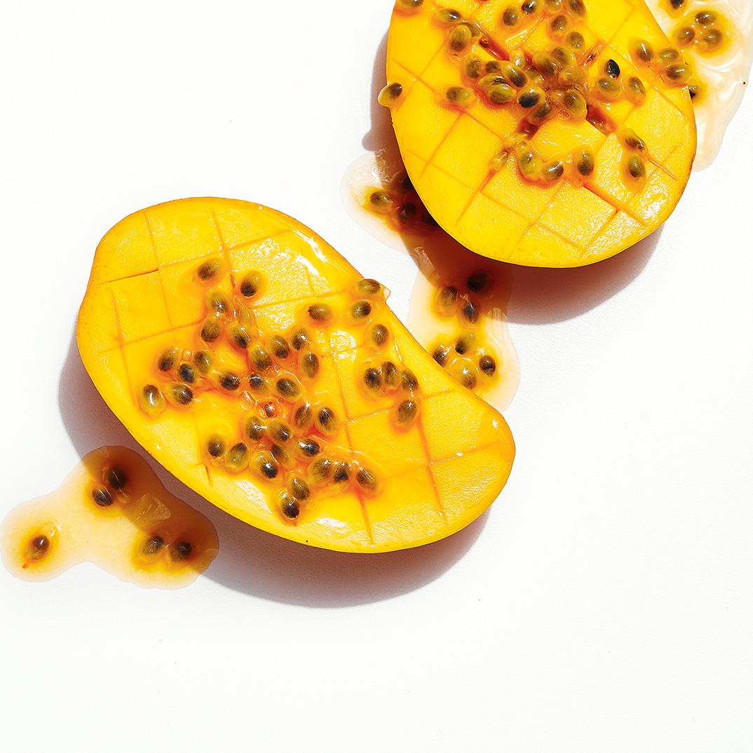 Mangue au fruit de la passion