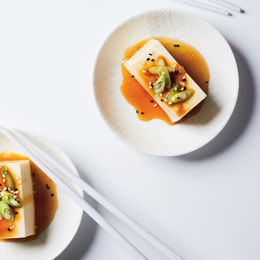 Tofu mou au soya et au sésame
