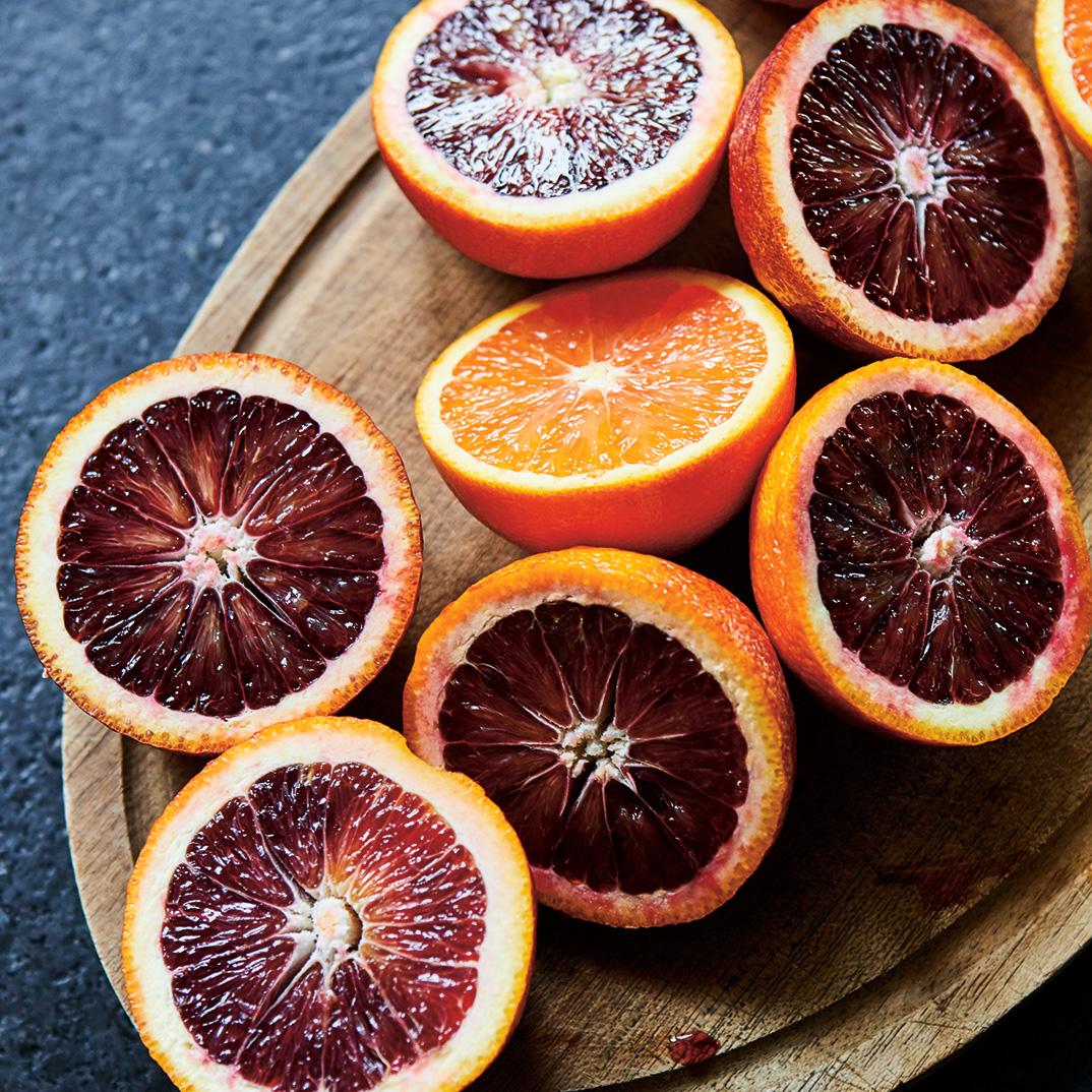 Pomegranate and Blood Orange Cocktail