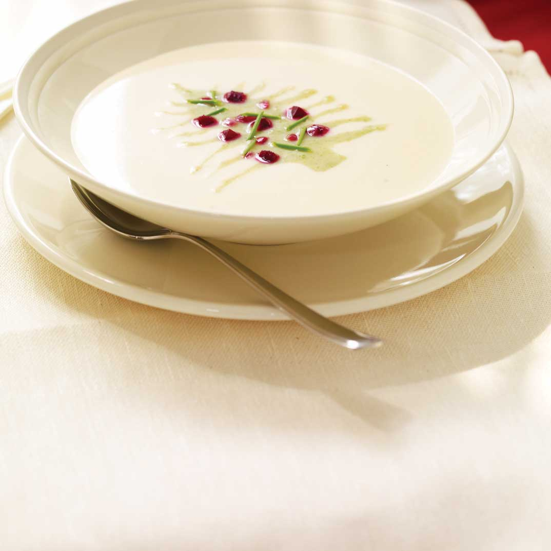 Two-Colour Celery Soup