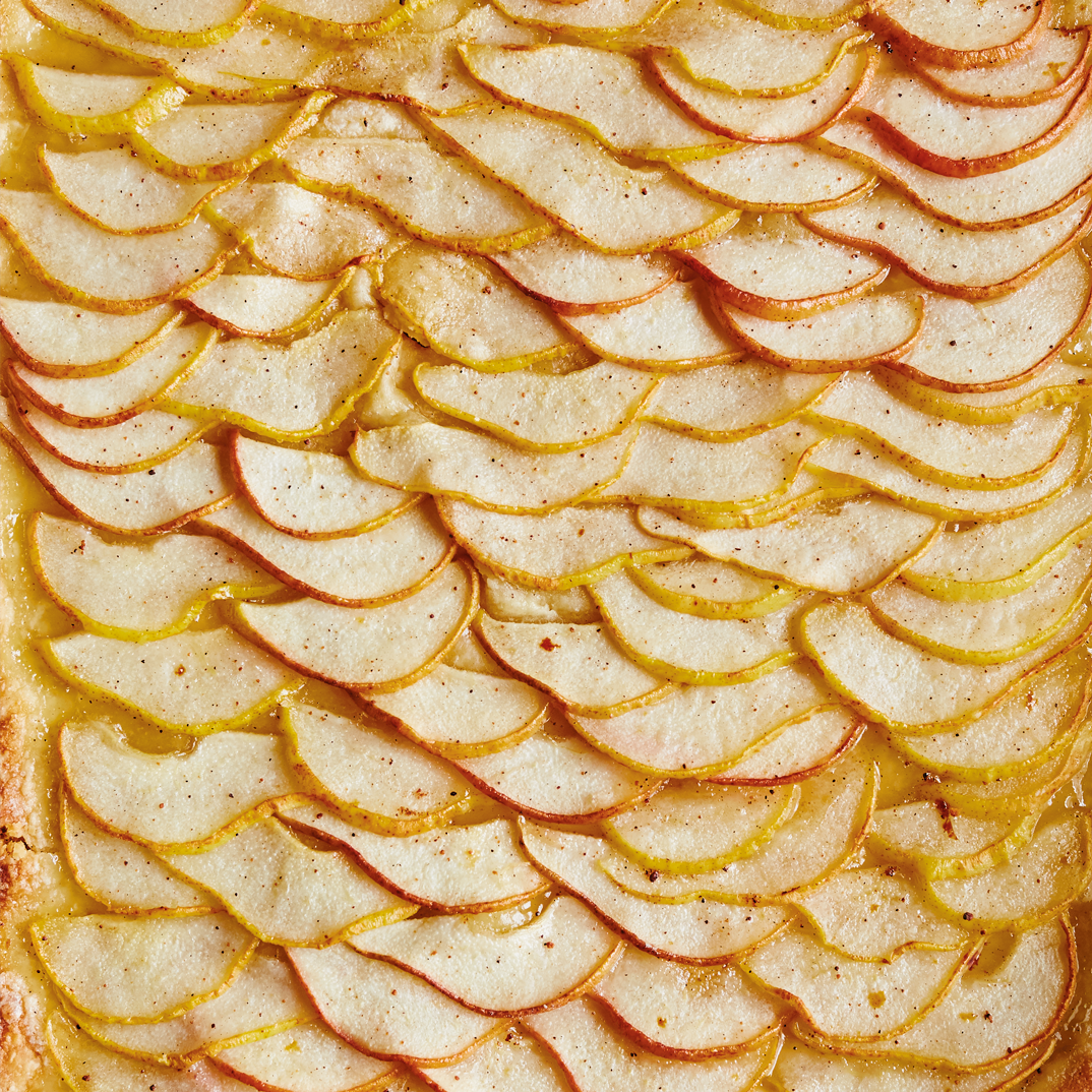 Tarte fine aux poires