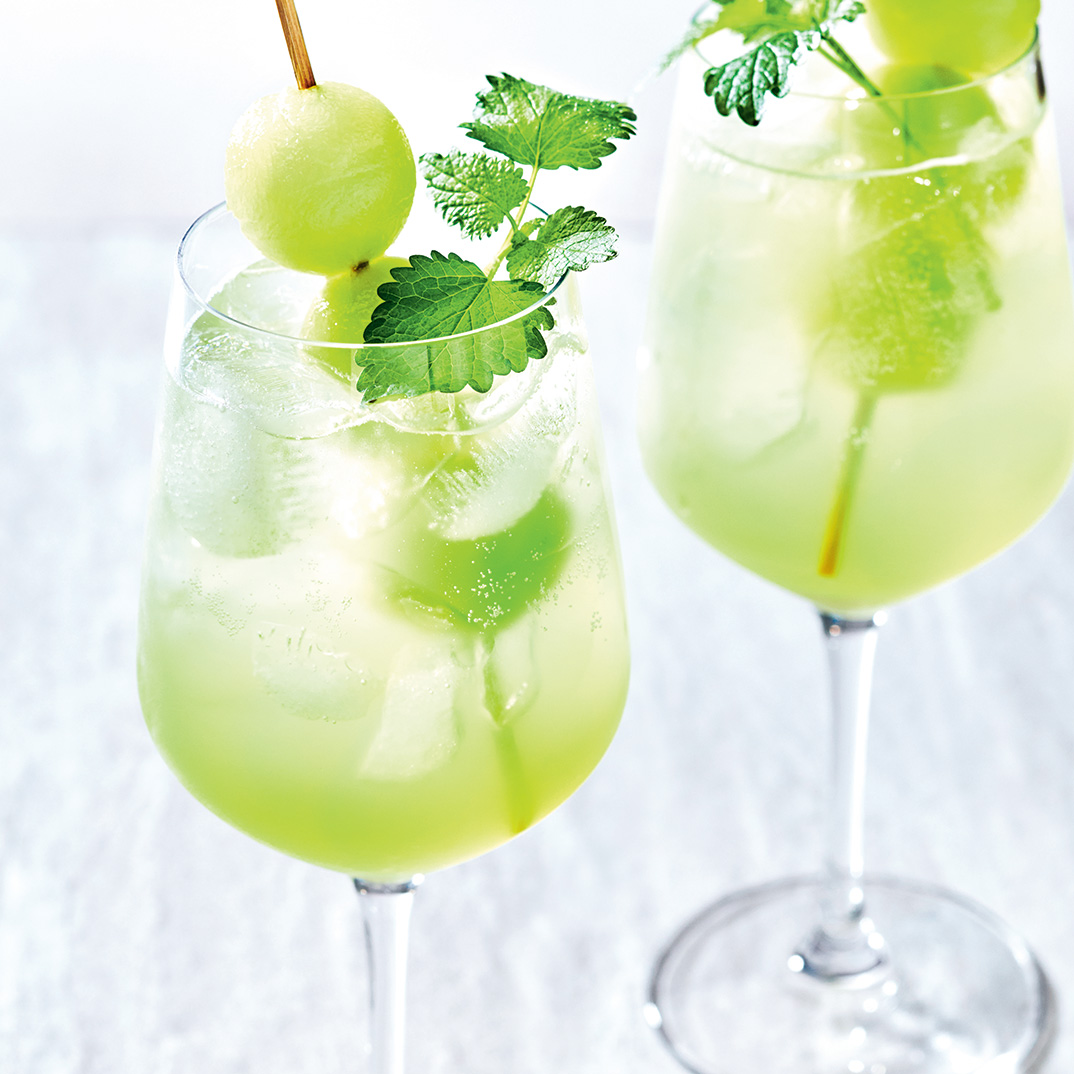Honeydew Lillet Cocktail