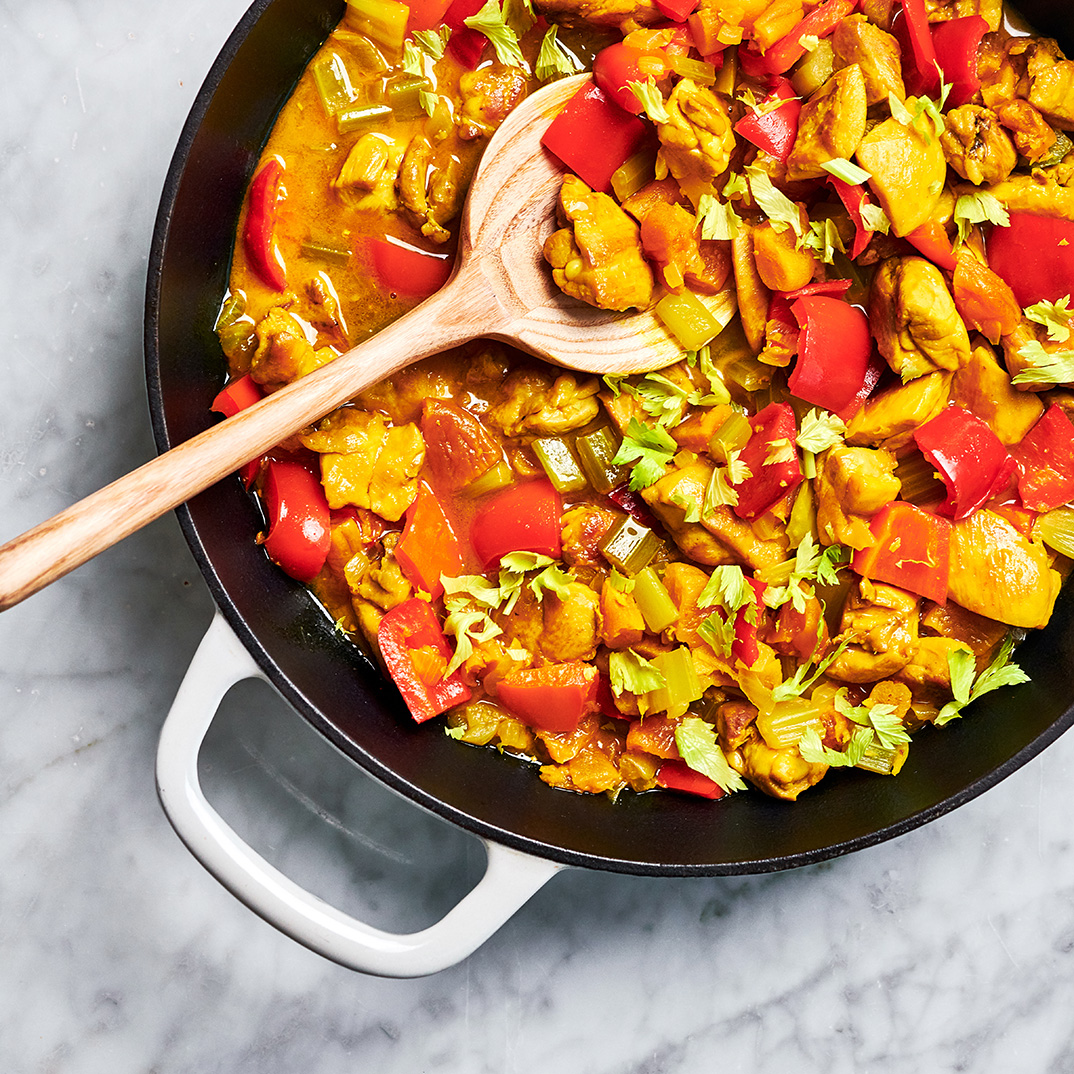 Ginger and Turmeric Chicken
