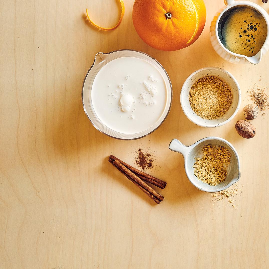 Creamy Spiced Coffee