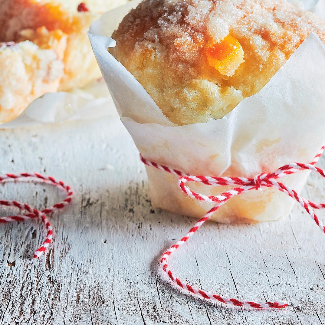 Crunchy Panettone Brioches