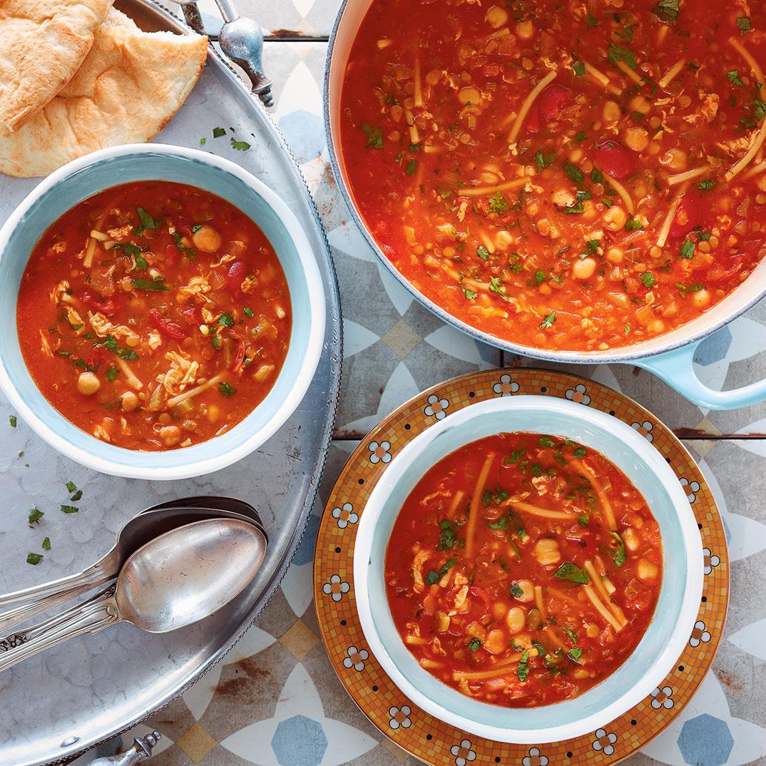 Vegetarian Harira Soup