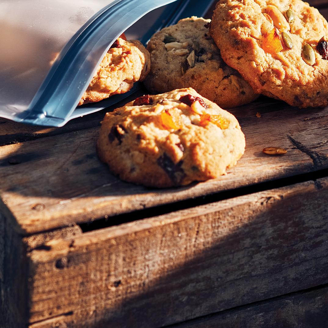 Biscuits au mélange du randonneur
