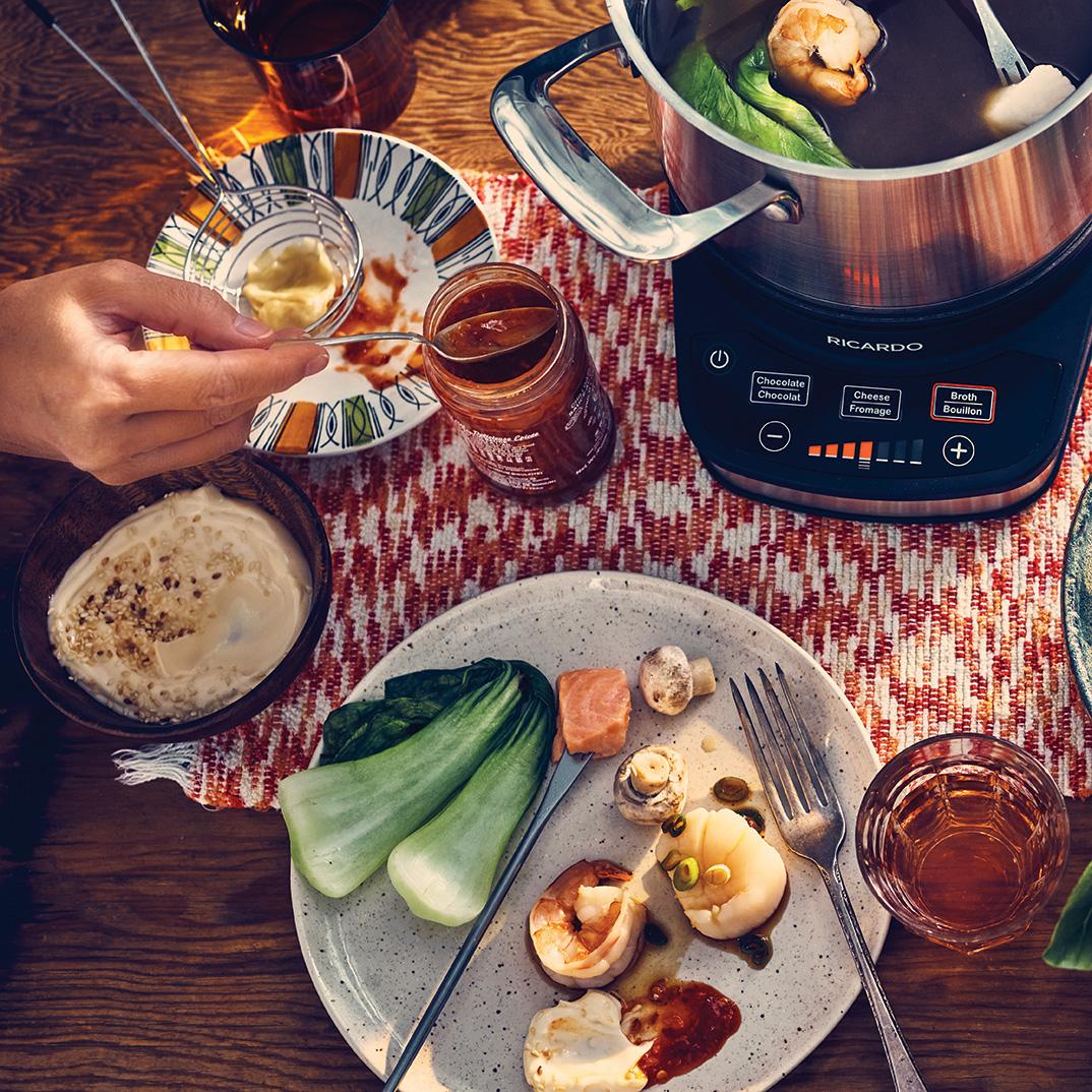 Chinese Seafood Fondue