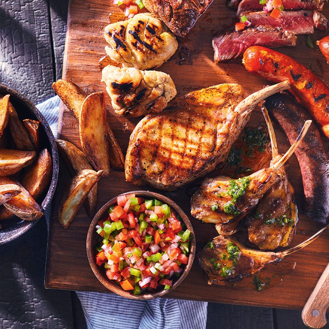 Argentinean Grilled Meat Platter (<i>Parilla</i>)