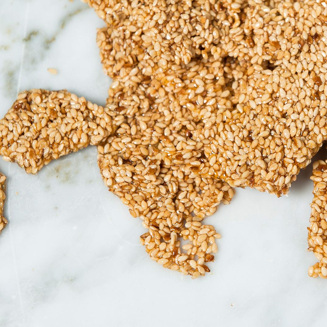Ethné de Vienne's Homemade Sesame Snaps
