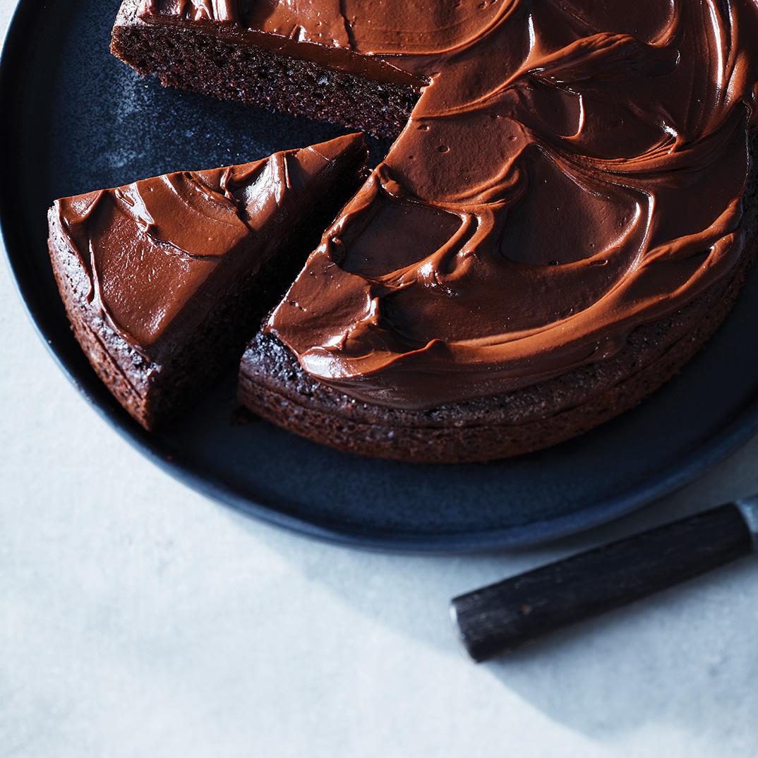 Reduced-Sugar Chocolate Cake