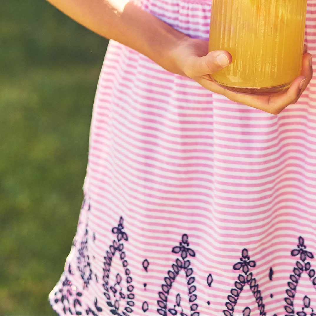 Orange-Honey Lemonade