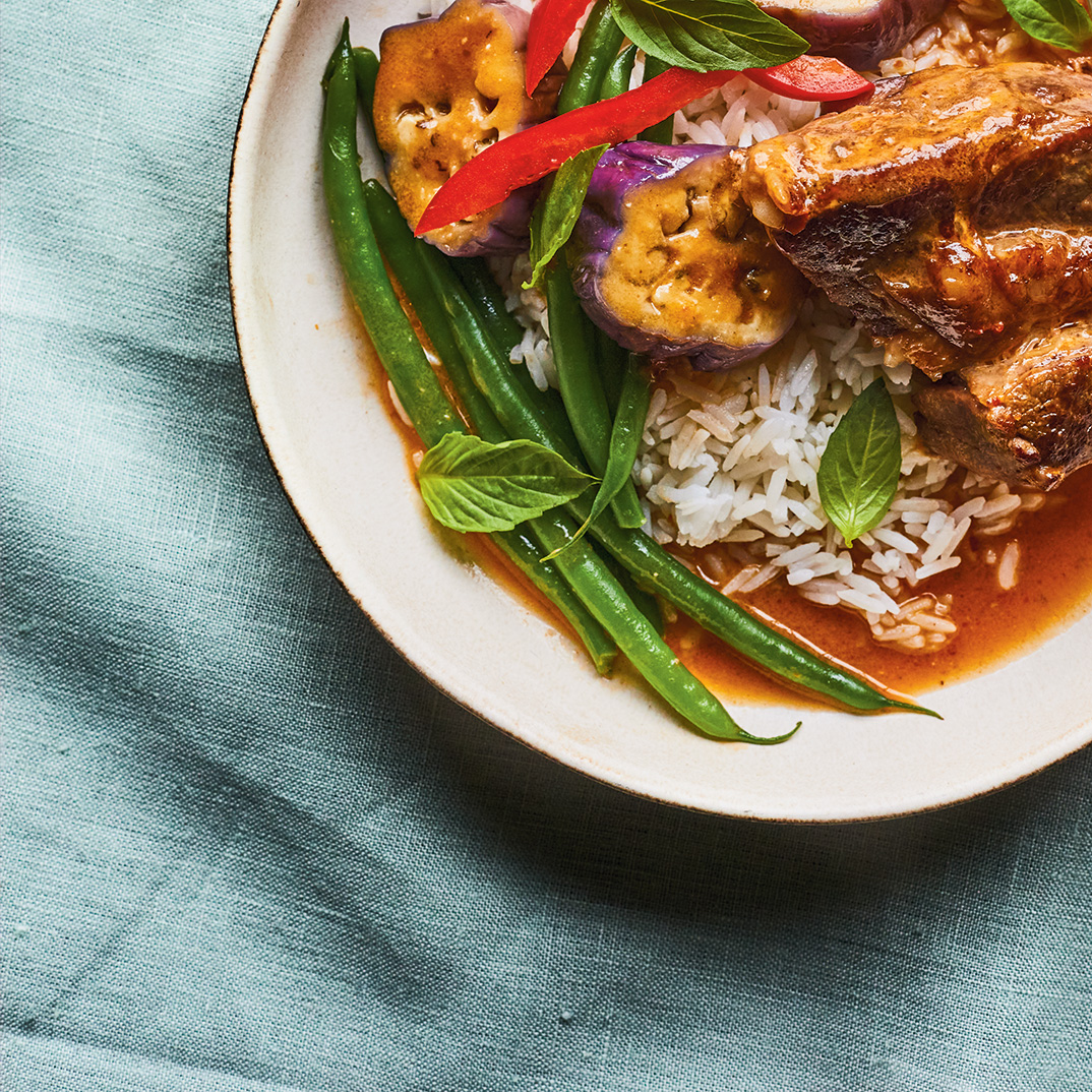 Red Curry Braised Beef