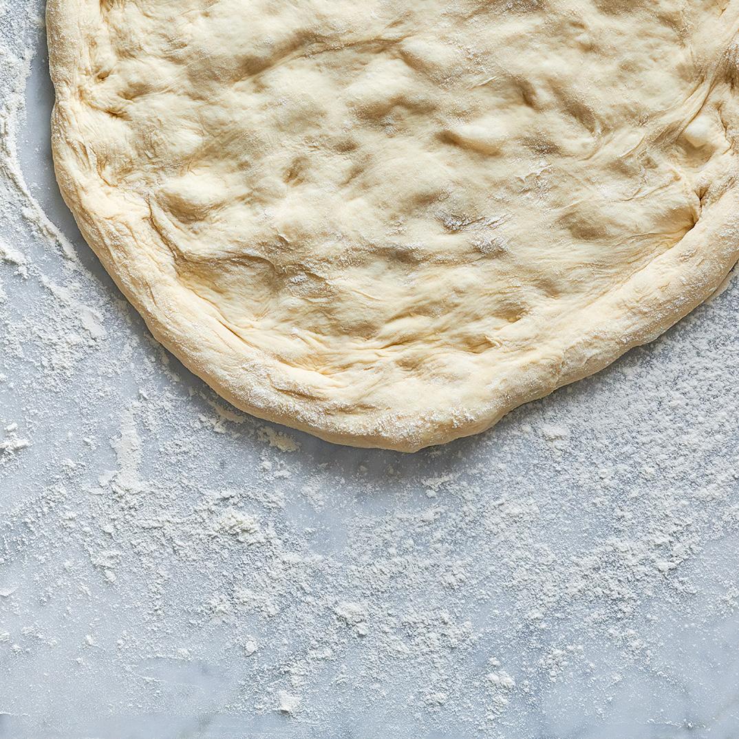 Fermented Pizza Dough (Poolish)