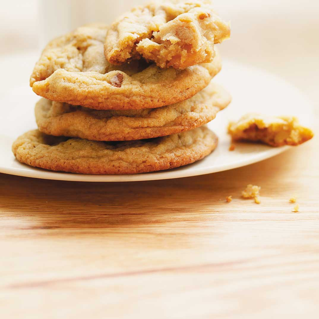 Chewy Maple Cream Fudge Cookies