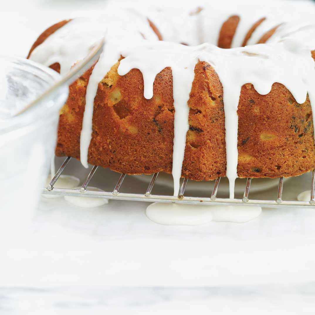 Pear and Chocolate Bundt Cake