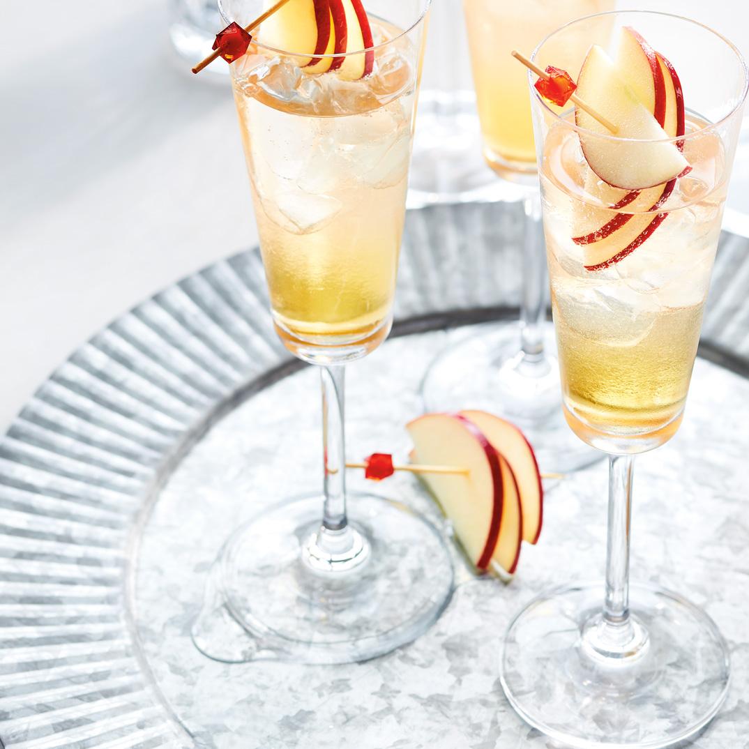 Cocktail pomme-pomme-pomme