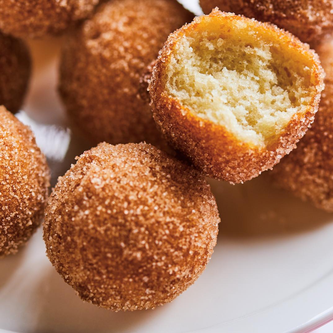 Gluten-Free Cinnamon Doughnut Holes